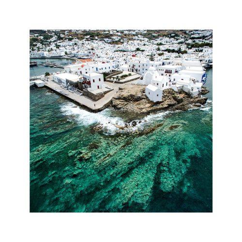 Silk Scarf - Mykonos