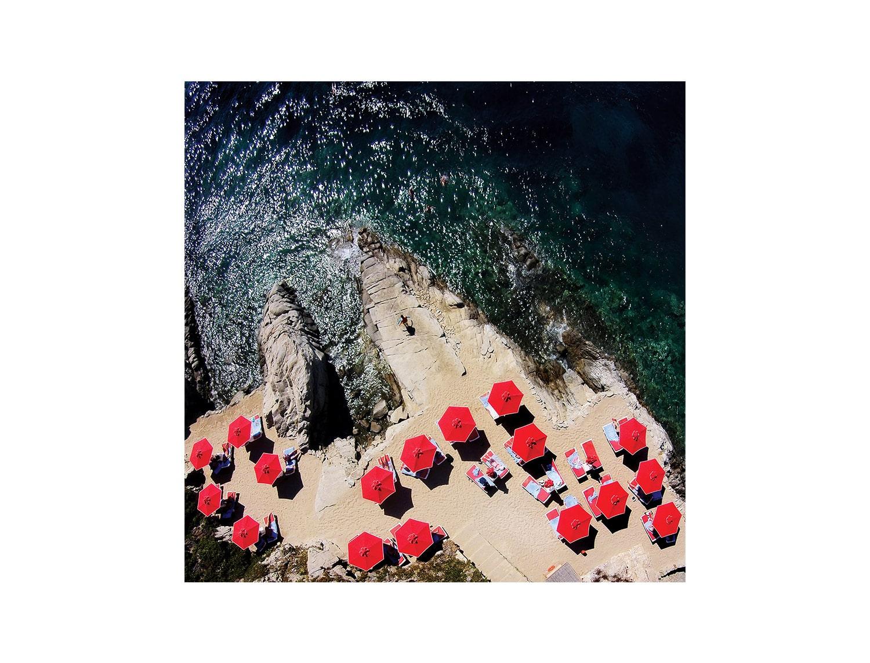 Silk Scarf - Mykonos-Platis Gialos