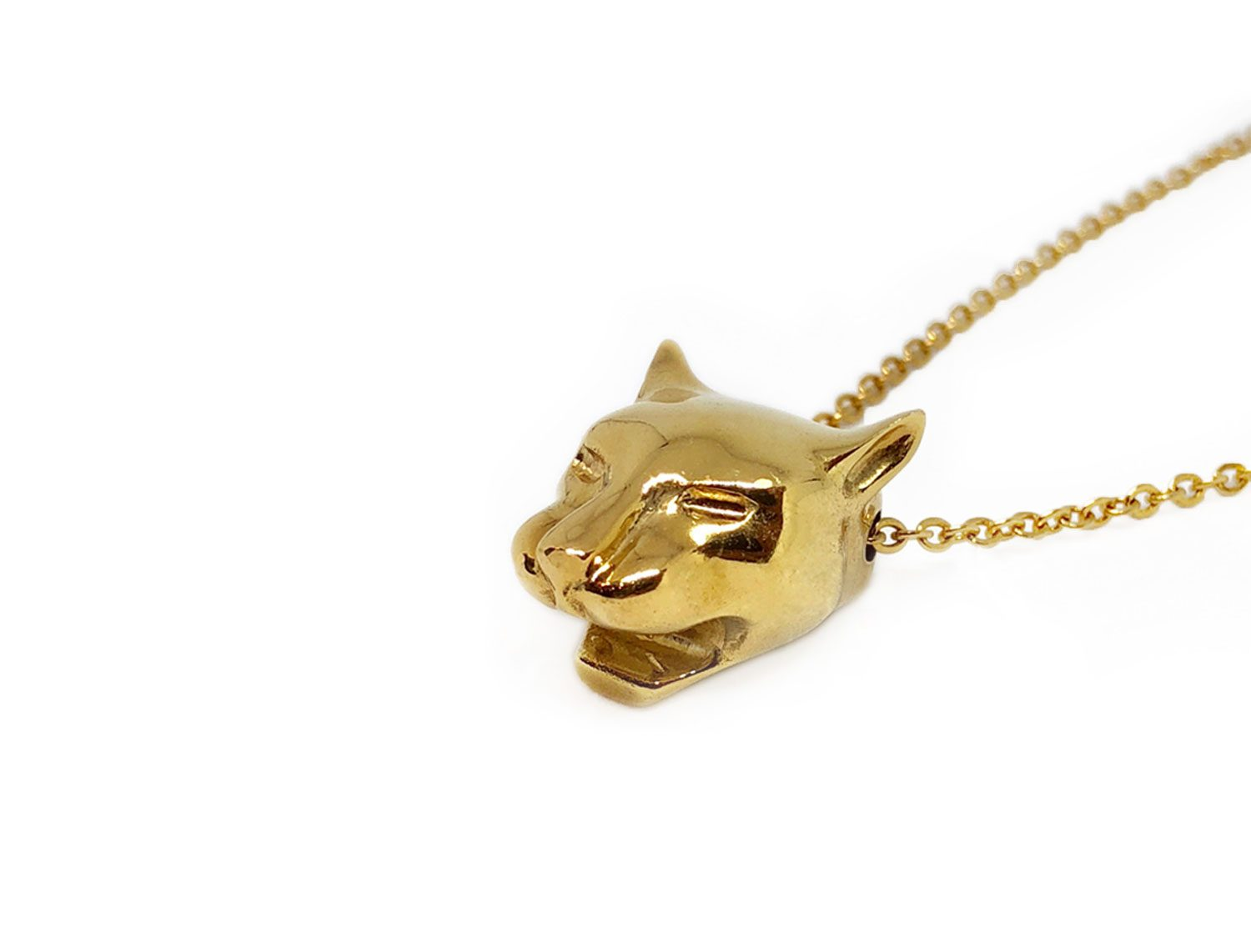 Gold Panther Necklace