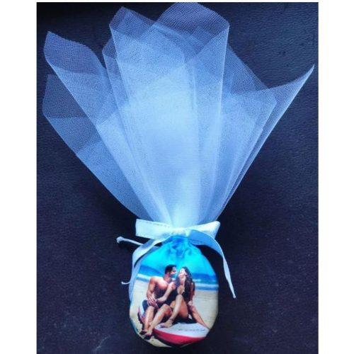 Custom Wedding Pouch & Pendant
