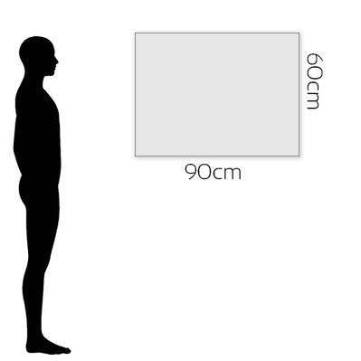 H 60cm x W 90cm