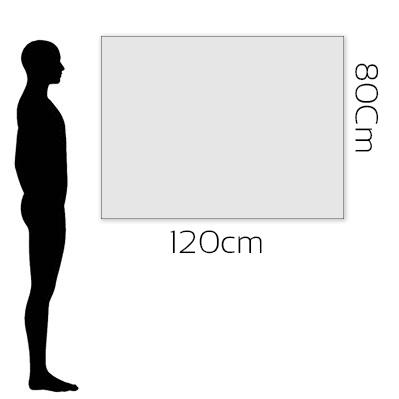 H 80cm x W 120cm