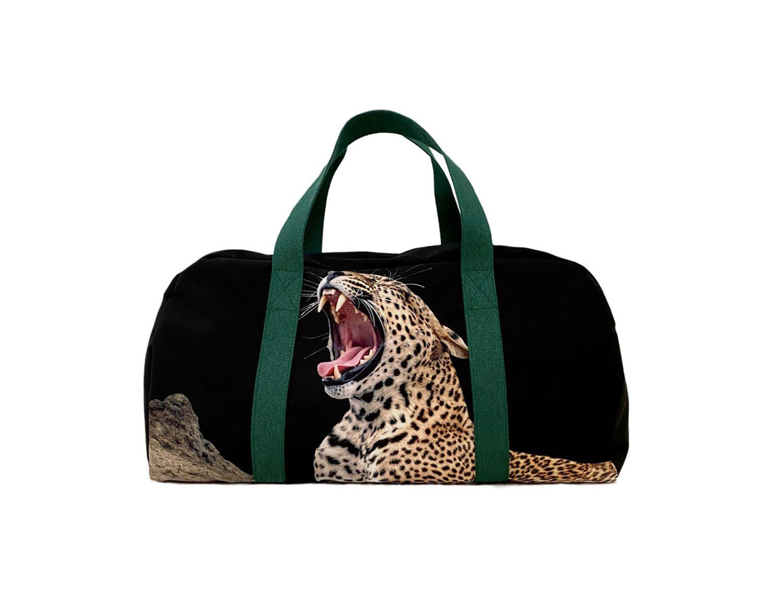 duffel bag tiger