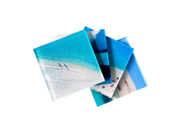 marina vernicos coollection plexiglas coasters