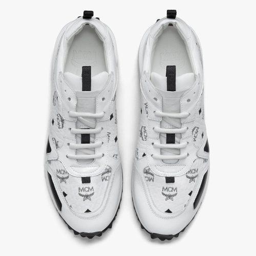 Women's Mach 76 Sneakers in Visetos - MCM