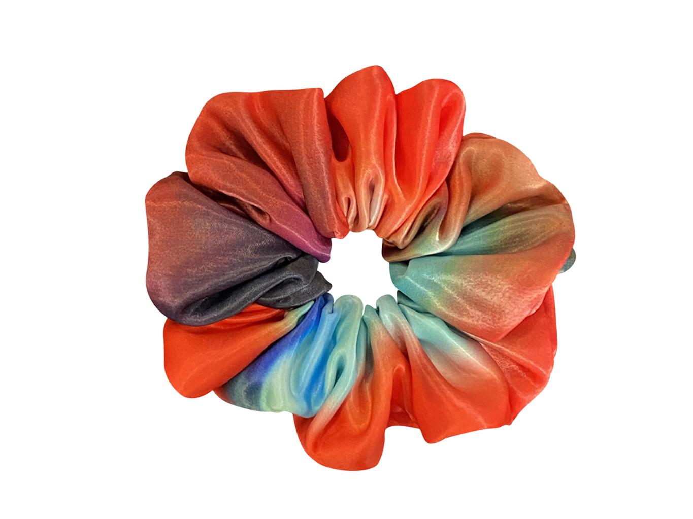 Scrunchie - Red Rose