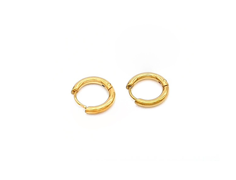Small Hoop Earrings 1CM- Adema