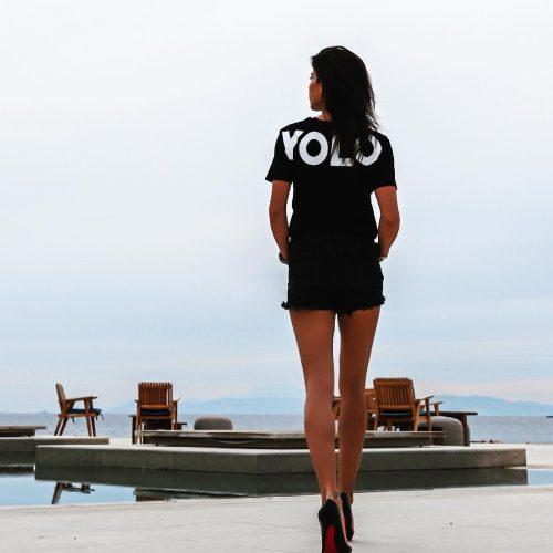 Yolo T-Shirt Marina Vernicos Collection - tshirt