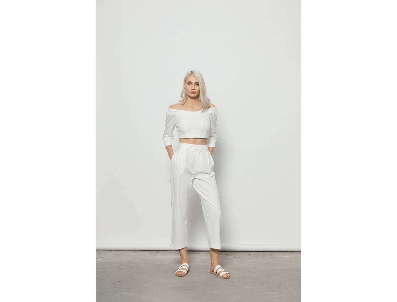 The Cool Pants-WHITE - 4tailors