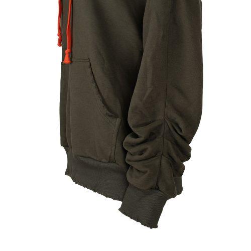 "Green ""Cool"" Zipper hoodie"