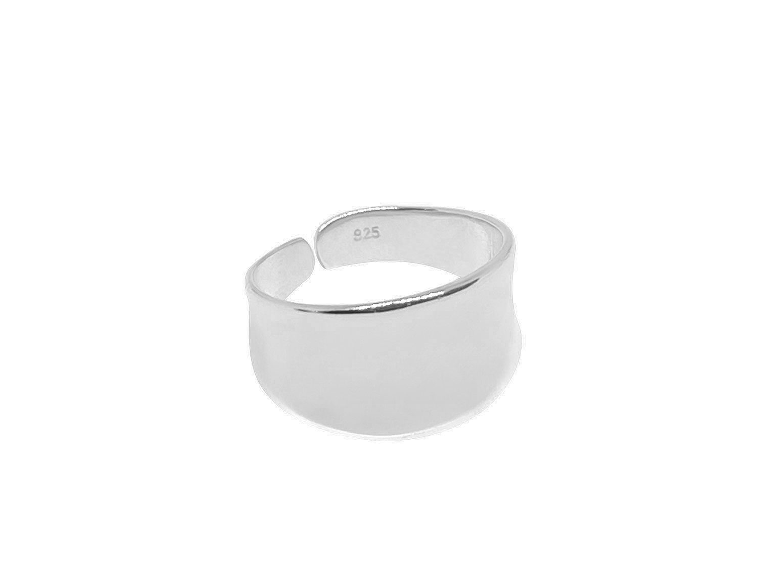 Open Ring Small Silver Plated- Adema
