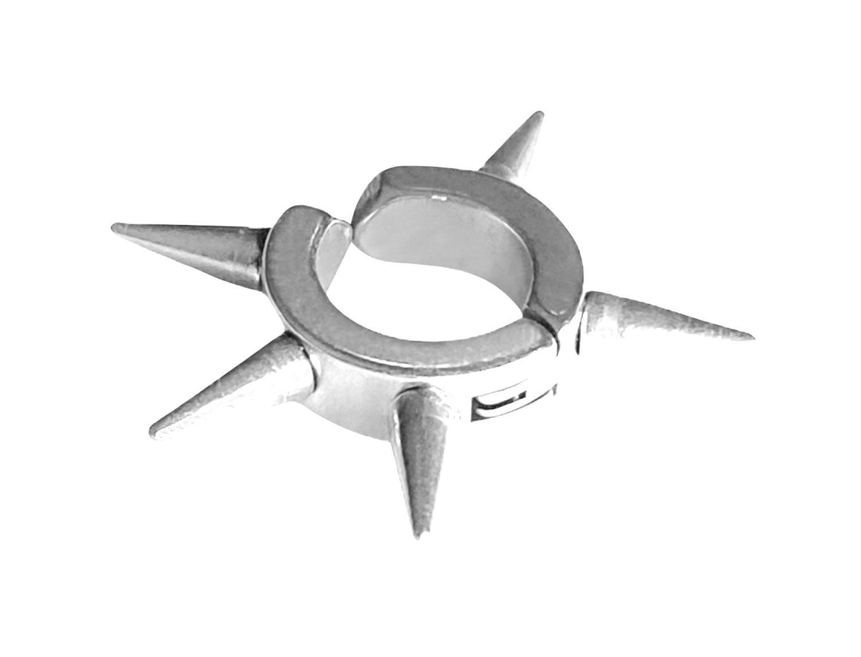 Spike Earring Silver Plated - Adema