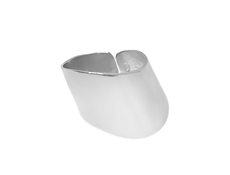 Open Ring Medium Silver- Adema
