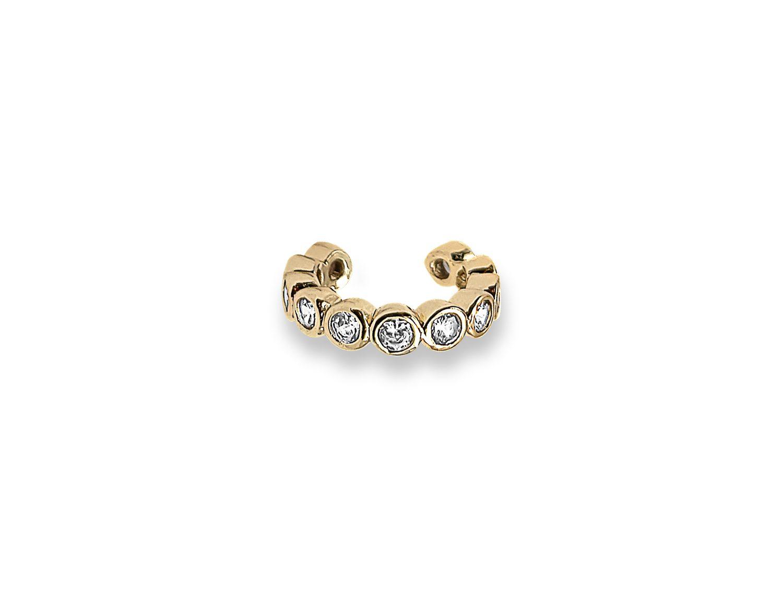 Diamond Earcuff Gold Plated - Adema