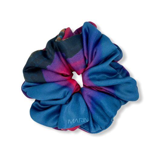 Scrunchie - Blue Star