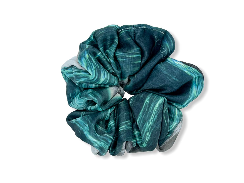 Scrunchie - Emerald Sea