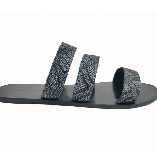 Sandal - Grey Snake