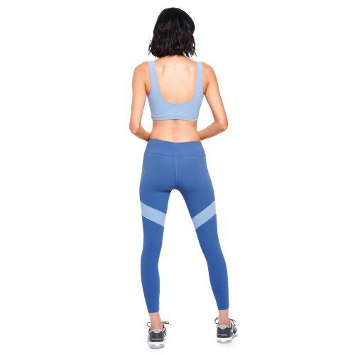 FIELD Two-tone leggings Light Blue - MEYIA
