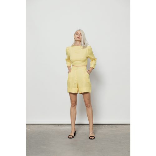 The Vers Top-YELLOW - 4tailors