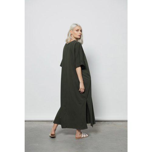 The Ripples Dress-KHAKI - 4tailors