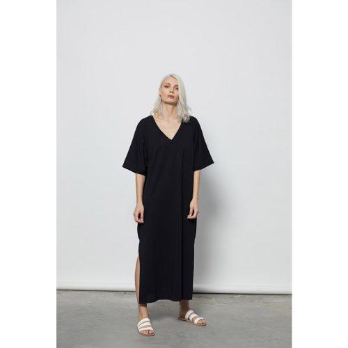 The Ripples Dress-BLACK - 4tailors