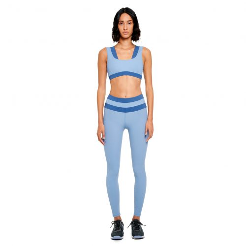 FUNCTION Two-tone sports bra - MEYIA