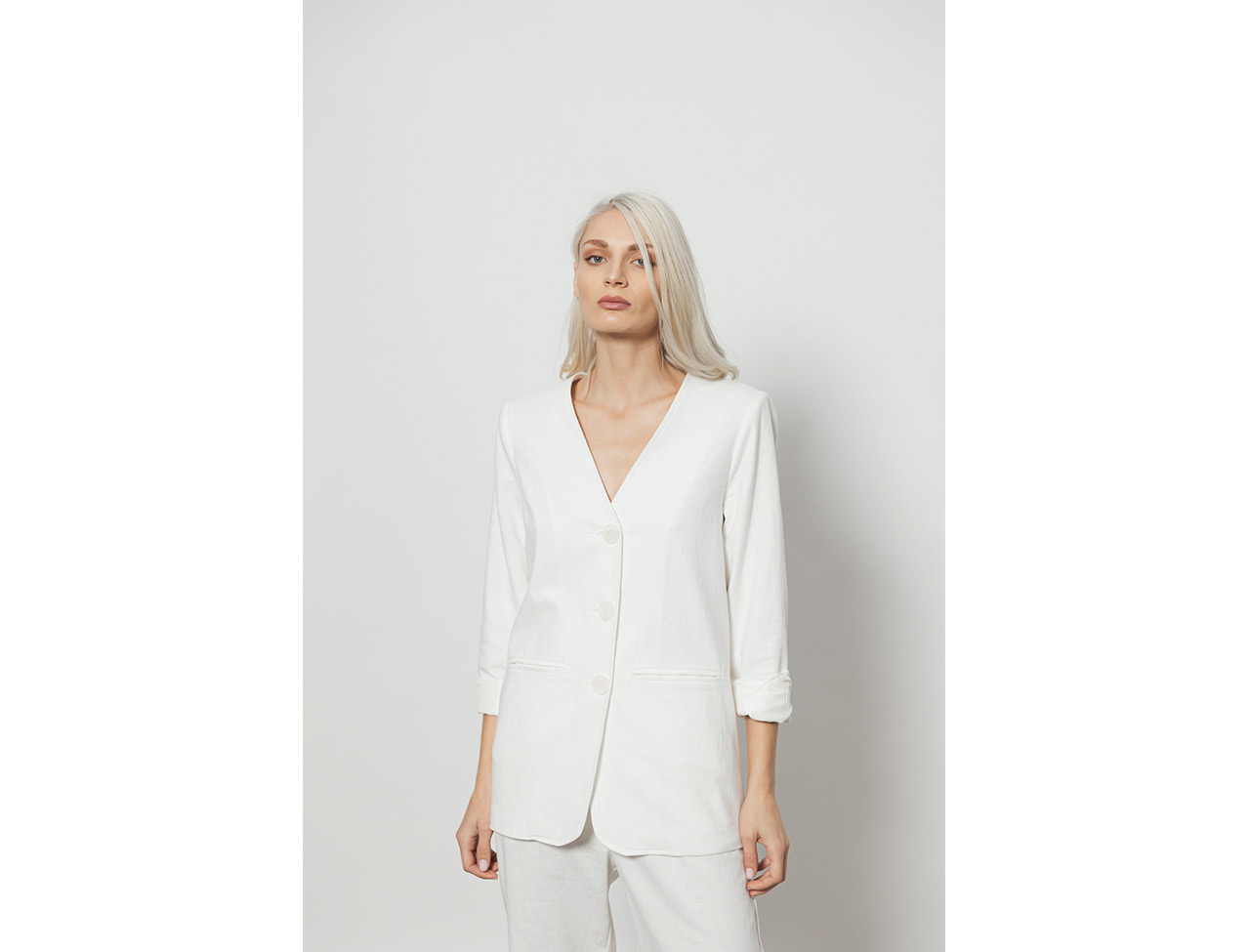 The Cool Blazer-WHITE - 4tailors