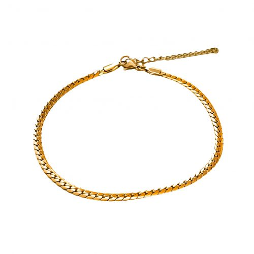 Gold Plated Anklet - Adema
