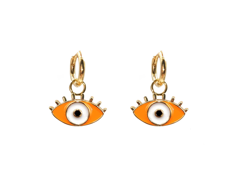 Earring Evil Eye