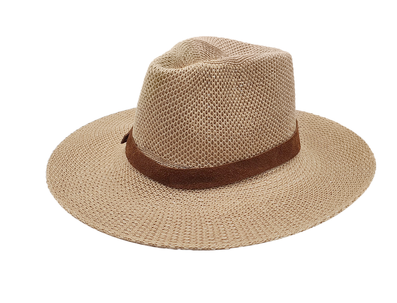 Fedora Hat Brown Ribbon - 𝗣𝗮𝗷𝗮 𝗧𝗼𝗾𝘂𝗶l𝗹𝗮