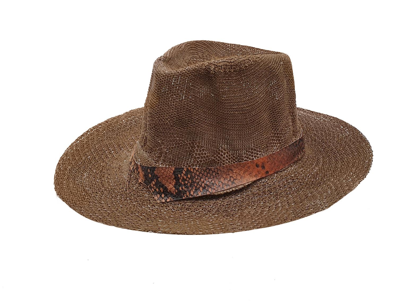 Fedora Hat Dark Brown  - 𝗣𝗮𝗷𝗮 𝗧𝗼𝗾𝘂𝗶l𝗹𝗮