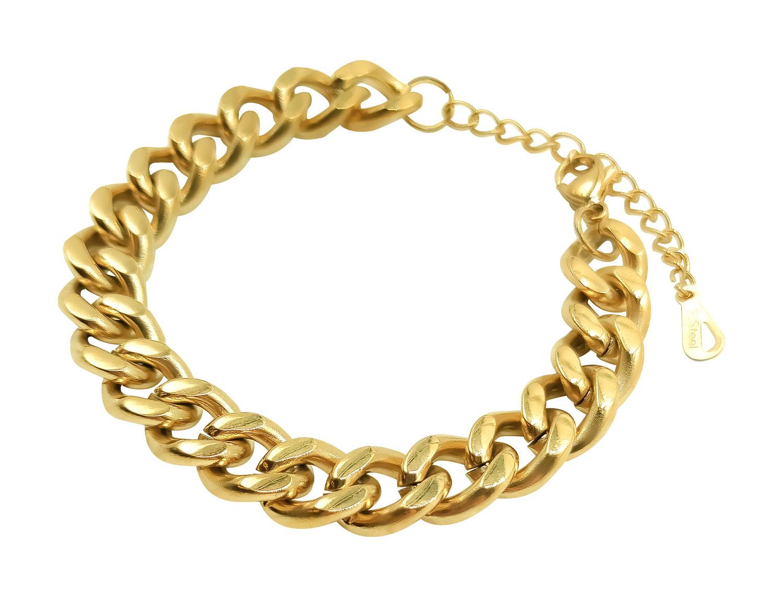 Thick  Chain Bracelet - Adema