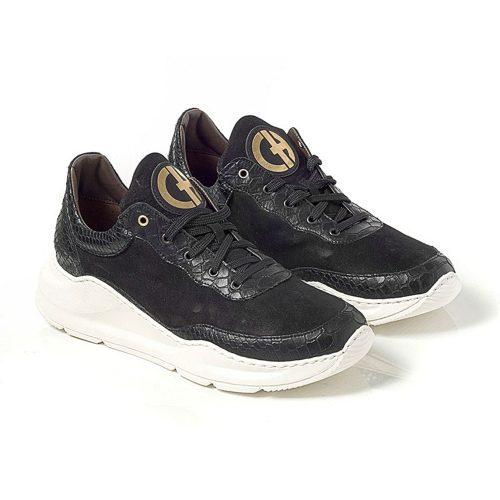 Sneaker Leather Black - Chaniotakis