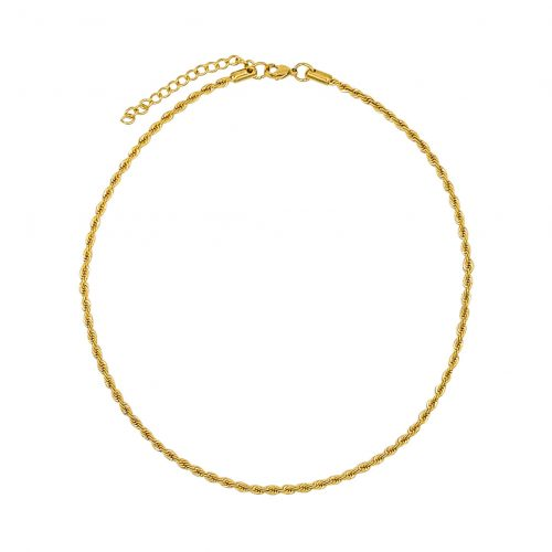 Braided Chain Gold Plated - Adema