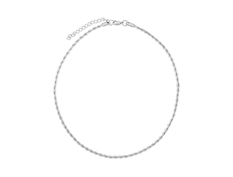 Braided Chain Silver Plated - Adema