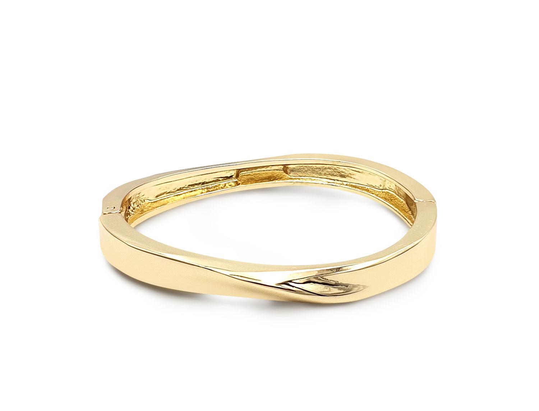 Open-Spring-Twist-Bracelet-Gold-Plated---Adema