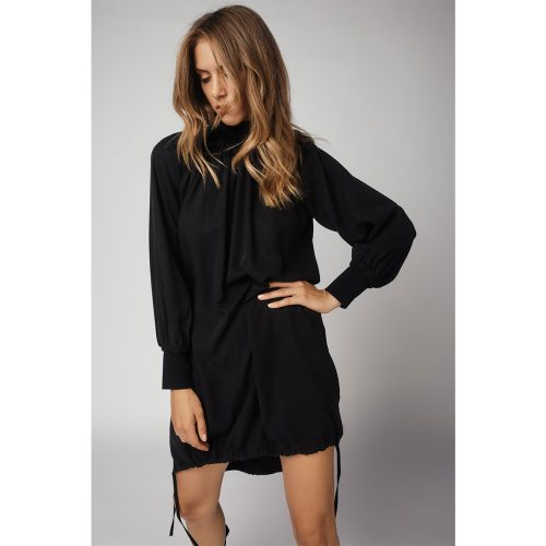 The Selvage Dress-BLACK